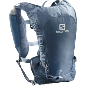 Salomon Agile 6 Rugzak Set, copen blue